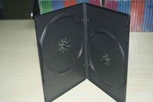 UW-DVD-170 14mm black auto machine packing dvd case for doubel disc