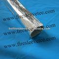 de aluminio que refleja el calor de fibra de vidrio mangas
