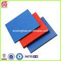 Solide plaque en plastique pvc/panneau de pvc