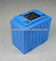 Golf car battery/12V 40Ah golf car battery