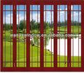 decorativa de vidro interno da porta de preços por atacado