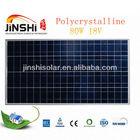 80 watt poly Solar panel for street light