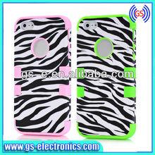 High Impact Zebra Design Back Cover Case for Iphone 5 Case Manufacturer