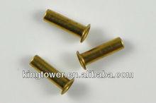 Open And Dome Head Brass Hollow Miniature Rivet