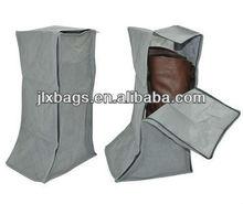 foldable non woven with bamboo carbon fiber shoe bag