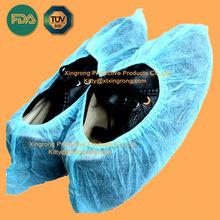 Disposable Surgical PE Shoes Cover,Non-woven Shoe Cover