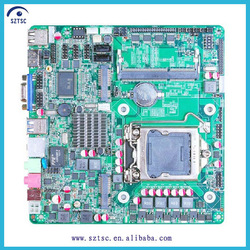 H61 LGA 1155 with Mini PCIE Slim Mini-ITX Motherboard