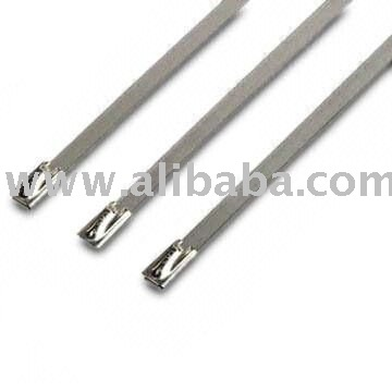 Roller Ball Stainless Steel cable Ties