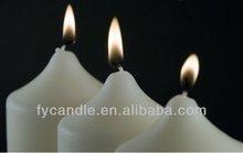 Hogar altares de la vela de la cera de parafina MADE IN CHINA venta al por mayor de la fábrica
