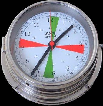 Clock Radio Room Marine 200mm (chrome)