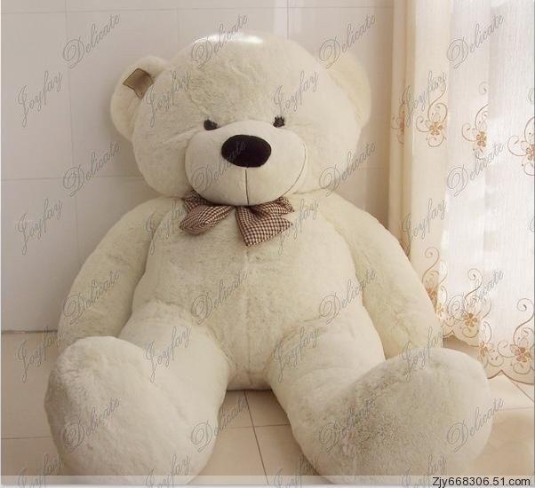 animale della peluche farcito orso bianco enorme gigante. Black Bedroom Furniture Sets. Home Design Ideas