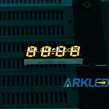 "0.28"" Yellow Four Digits LED Numeric Display,ARKLED,mini size for clock"