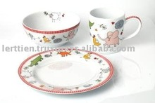 Party Pets from Thailand Gift Royal Porcelain Dinner Set