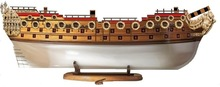 100 Gun English Warship Model Hull