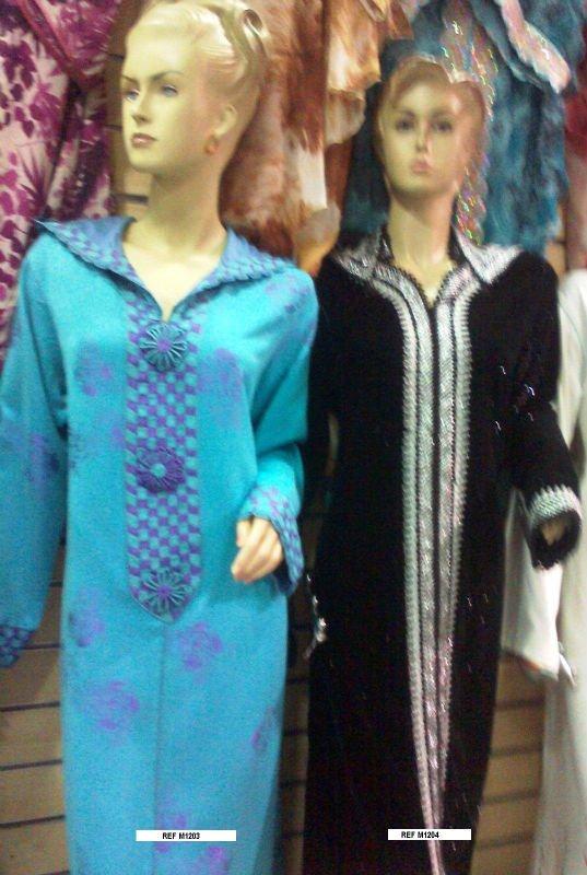 jalaba and kaftan marocain