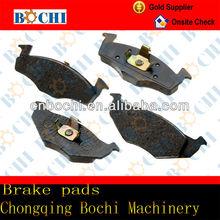 China hot sale cheap high performance semi metal ceramic seat brake pad