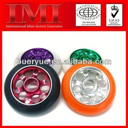 2013 Hot Sale Colorful High Speed and Good Working 100mm wheels for scooter
