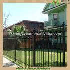 Black Vinyl Picket Fence (SGS Factory)