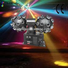 4pcs 3in1 3w high MCD STAR BALL club effect disco ball light