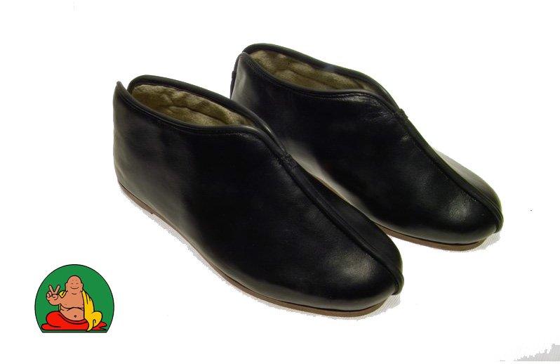 """Zapatos de cuero """" Bu Xie """""""