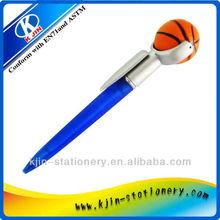 Creative design cute logo basketball funny ballpen