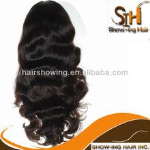 4x4 inch silk top long multidirectional human hair wig