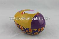 Egg shape/irregular candy/chocolate tin