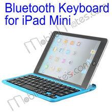 Bright Color Slim Aluminum Bluetooth Keyboard for iPad Mini Wireless Keyboard