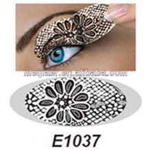 Cool Fashion Sexy Women Eyes Rock Sticker Transfer Crystal Tattoos Easy Beauty