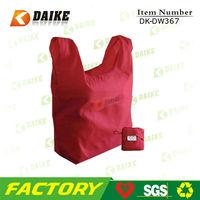 Custom eco nylon pocket foldable tote bags DK-DW367