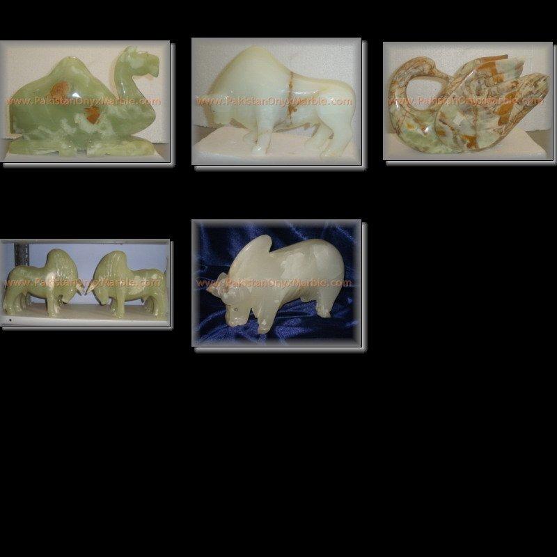 Los animales onyx artesanías elefantes, delfín de ónix, el ratón, conejo, la rana, tortuga, cisne, rhino, pescado, perro, gato, camello, los loros