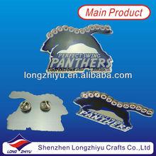 Offset Printing Doming Epoxy Animal Shape Lapel Pins/Animal Badges