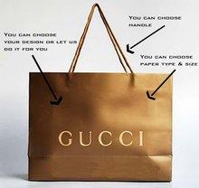 Coated paper bag