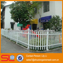 Plastic Picket Fencing/ Plastic Steel Fence for Village