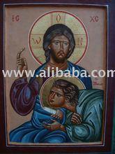Christ & John the Beloved 35x26 cm