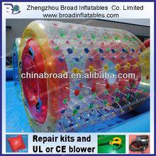 Durable colorful PVC/TPU fun roller wheel