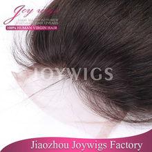 100 % Vergin Indian human hair Swiss lace closure hair piece