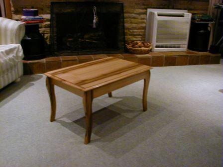 Black Heart Sassafras Solid Wooden Table