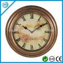 metal antique clock wall 25cm