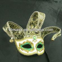 Mardi Gras Fashion Half Face Masks For Male Masks