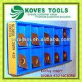 Korloy carburo de giro insertar en cnc herramientas de torneado DNMA 432 DNMA150408 tipos