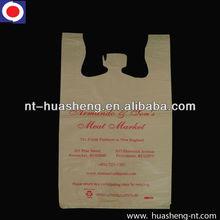 HDPE printed custom made shopping bags