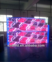 Hot sales !!! Super high brightness P10 double sided led display screen