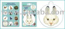 Rabbit Car Home Paper Hanging Air Freshener