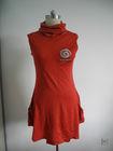Merino Wool Knitted Fashion Dress/T-shirts for Ladies
