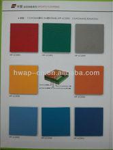 Flexible PVC Sports Flooring, Stadium Used Badminton Sports Flooring