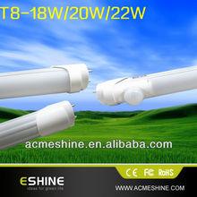 2013 USA Canada New Patent Integrative let t8 tube 14w/15w/16w/18w/20w/22w with 1.2m