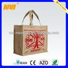 burlap shopping bag(NV-JT034)