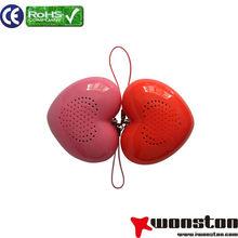 2013 fashion high quality portable memory card mini speaker&portable outdoor speaker&plastic cabinet speaker box