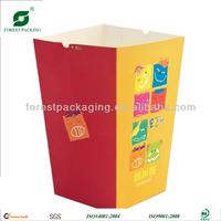SMALL SIZE FOLD BOTTOM PAPER POPCORN BOX